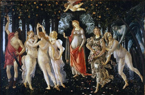 Botticelli_Primavera_Uffizi_Florence
